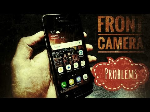 Front camera problems with Samsung Galaxy Grand Prime Plus!