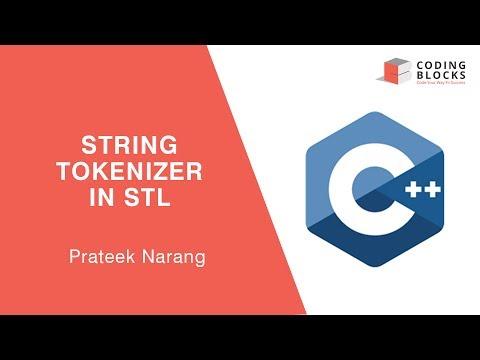 Using C++ STL String Tokenizer - strtok() function