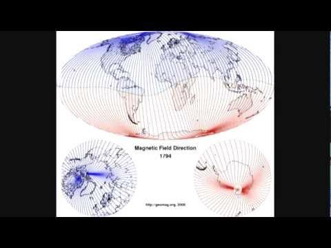 Amazing Magnetic Pole Shift Animation