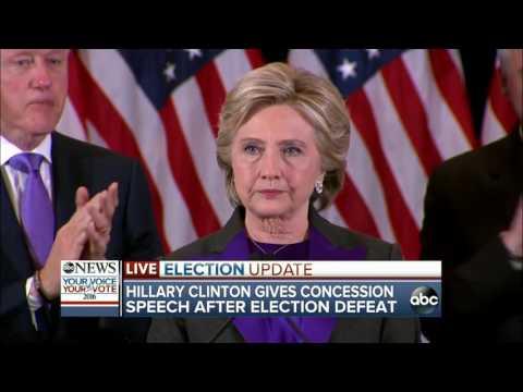 Hillary Clinton FULL Concession Speech | Election 2016