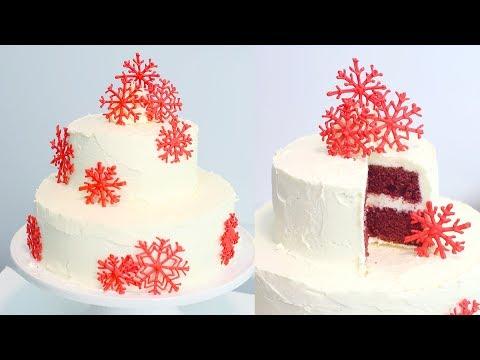 How to Make a Red Velvet Christmas Cake | RECIPE