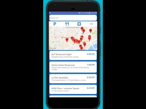 Route Finder & GPS Navigation App DEMO !!!