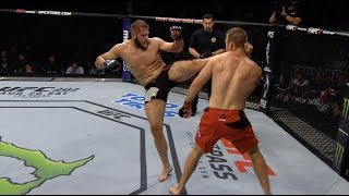 UFC St. Petersburg Fighter's Top 5 Finishes