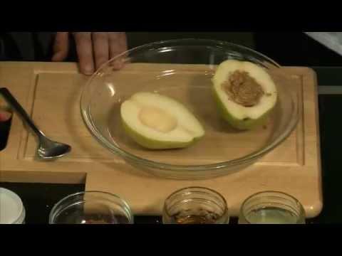 Hazelnut Bliss Baked Pears