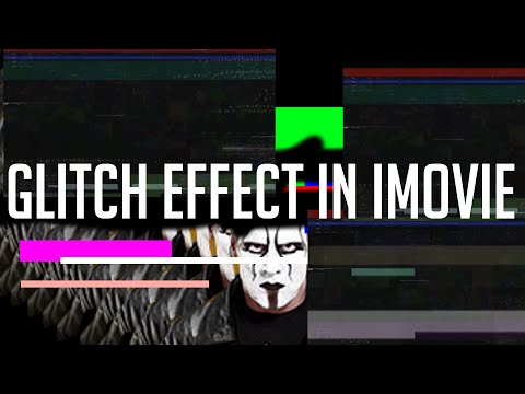 How To Make an Awesome Glitch Effect in iMovie
