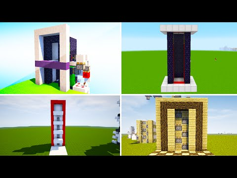 6 BEST Elevators In Minecraft!