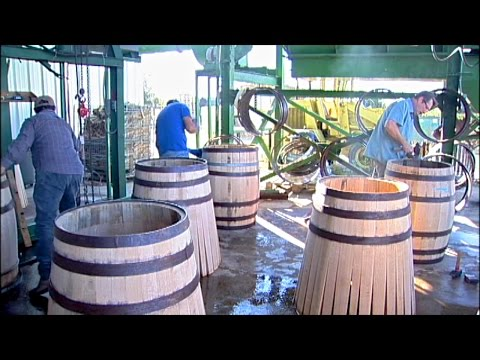 The Old World Craft of Barrel Making