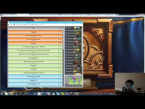 (HD 90) Présentation HearthStone Deck Tracker