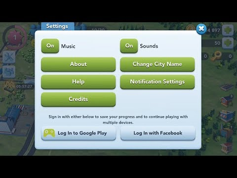 Simcity Buildit: How to get back your old account in 5 mins.