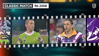 Raiders V Storm Round 6 2008 Classic Match Highlights NRL