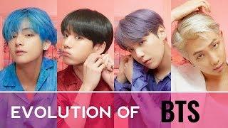 The Evolution Of Bts ( 2013 - 2019 )