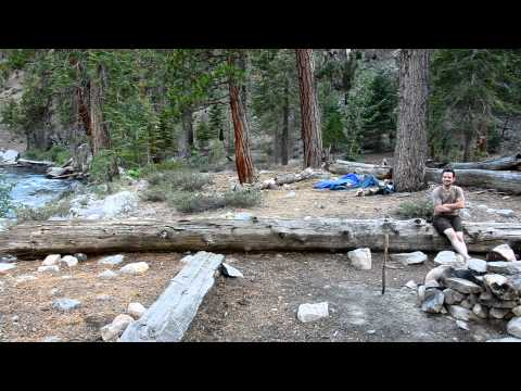 Kern River at Golden Trout Wilderness and Sequoia National Park Boundary