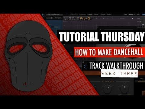 How To Make Dancehall In Logic X -  Rachael Bawn Walk Through Week 3 [Tutorial Thursday]