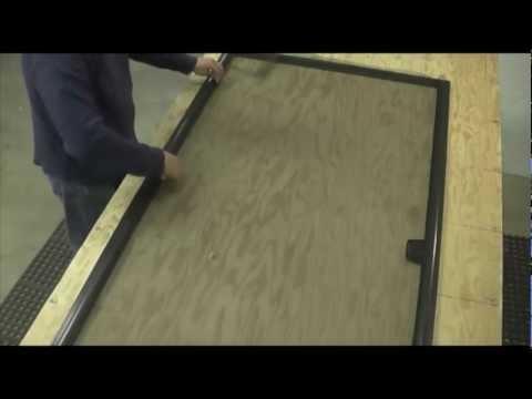 Putting Together Unassembled Sliding Screen Doors