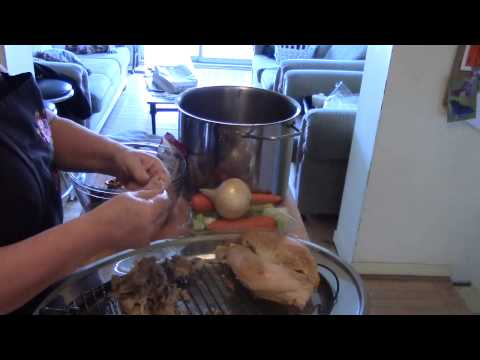 How to make turkey broth