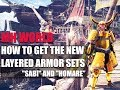 Download  MONSTER HUNTER WORLD - HOW TO GET THE NEW LAYERED ARMOR SETS BUSHI  MP3,3GP,MP4