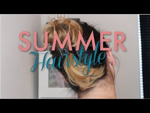 4 EASY & CUTE SUMMER HAIRSTYLES UNDER 5 MINUTES   2018