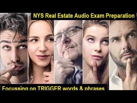 Trigger Words for NYS Real Estate Exam Review