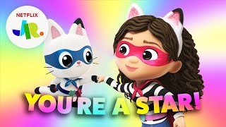 'You're a Star' Gabby's Dollhouse Confidence Song for Kids   Netflix Jr Jams