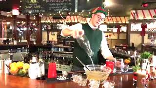 Bartender tips for hosting a holiday party: Making a cocktail punch