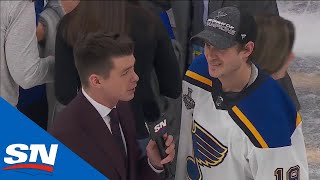 Jay Bouwmeester Offers His Thoughts On Winning His First Stanley Cup