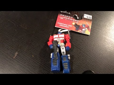 Hallmark Transformers Optimus Prime Christmas Ornament 2017