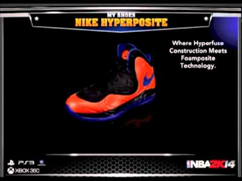 NBA 2K14 - All New Shoes