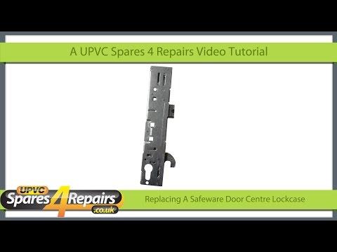 Replacing a Safeware Upvc Door Lockcase