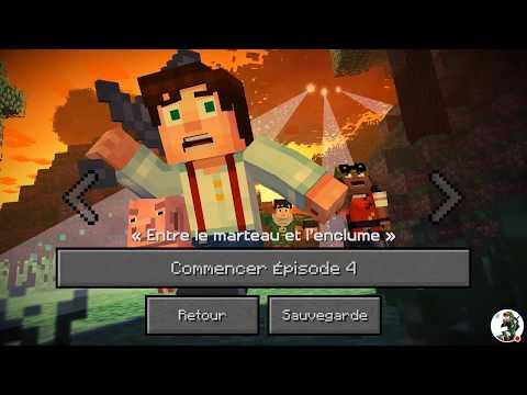 Minecraft Story Mode - épisode 4 : Entre le marteau et l'enclume