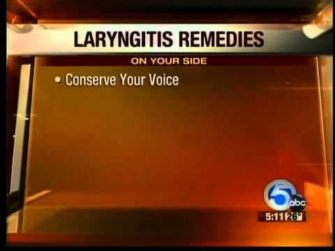 What to do when you're losing your voice to laryngitis