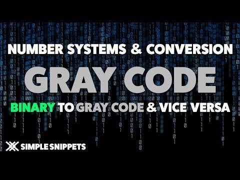 What is Gray Code?   Binary to Gray Code Conversion & Gray Code to Binary Conversion