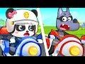 Super Policeman Doctor Cartoon Firefighter Song Nursery Rhymes Kids Songs BabyBus