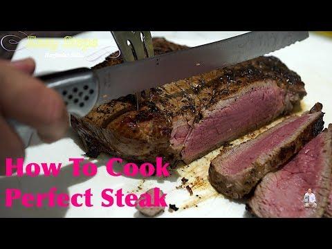 A Simple Way To Cook Steak | Tasty Medium Rare Steak