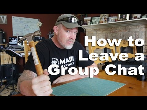 How To Leave A Group Chat (parody)