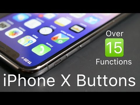 iPhone X Buttons - All Functions Explained