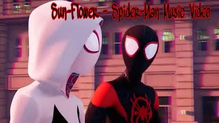 Post Malone And Swae Lee Sunflower  Spiderman Into The Spider Verse  Music Video
