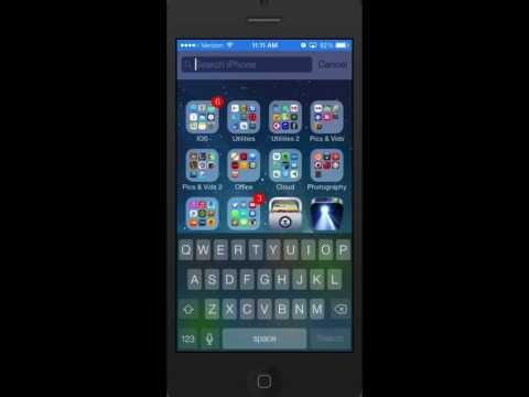 Using Spotlight Search in iOS