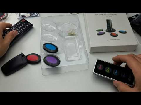 ESky Wireless Key Finder/Remote with 4 Transmitter Review & How to
