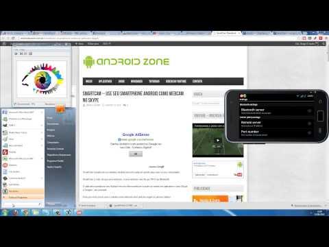 SmartCam -- Use seu smartphone Android como webcam no skype