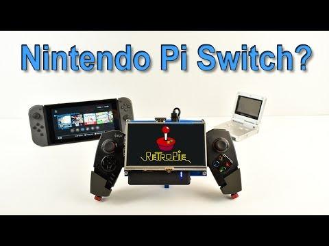 Nintendo Pi Switch? Portable Raspberry Pi 3 Ghetto Pi Boy V2 5 Inch Screen