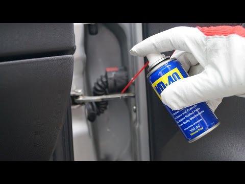 Opel Corsa - Door Hinge Lubrication