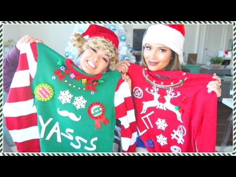 DIY Ugly Christmas Sweaters! With Marianna Hewitt
