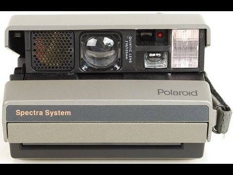 Polaroid Spectra Camera and New Film
