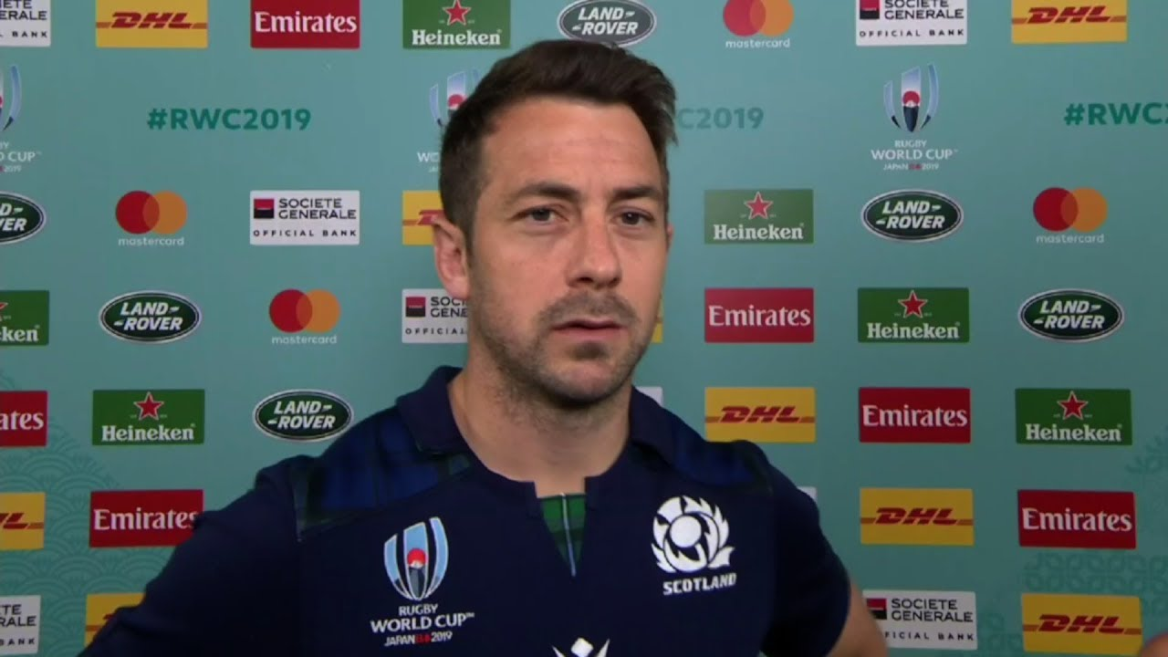 Rugby World Cup | Japan v Scotland | Post-match interview with Greig Laidlaw