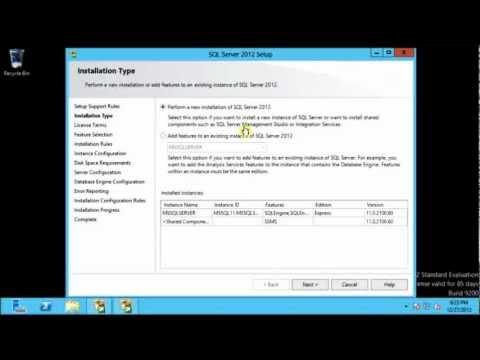 Add instances of SQL Server 2012 Express