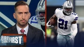 Nick and Cris agree that Cowboys should ease Zeke back into their offense | NFL | FIRST THINGS FIRST