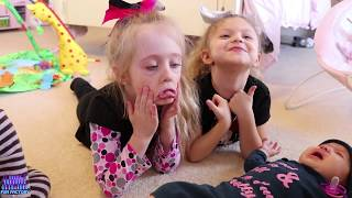 Baby Doll Babysitting Dolls Turn into Real Crying Babies American Girl Bitty Baby W/ Play Doh Girl