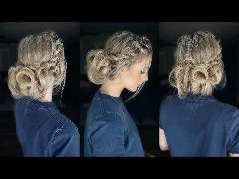 Rope Twist Updo | Two Ways To Style It