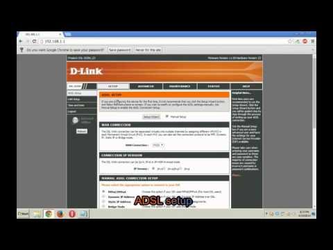 Configure BSNL broadband modem router setup