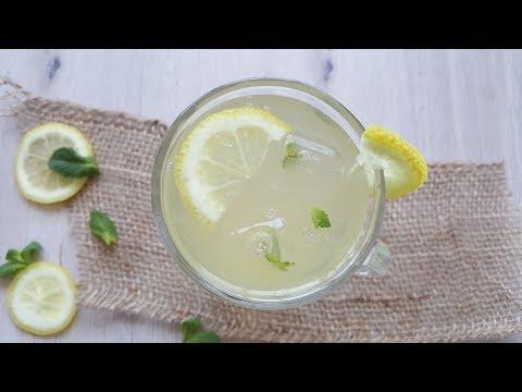 Honey Mint LEMONADE DRINK (Simple & soooo refreshing...)